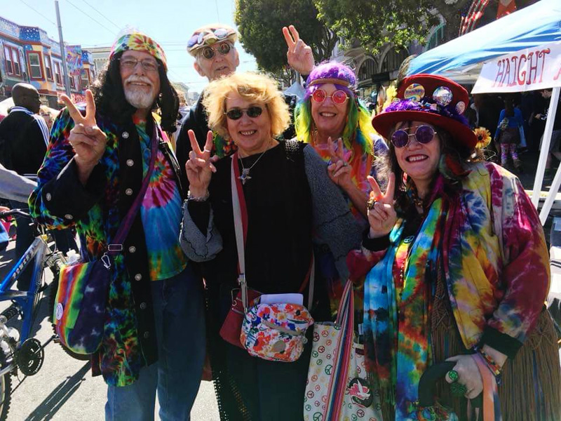 40th Annual Haight Ashbury Street Fair - 50 year Summer of Love