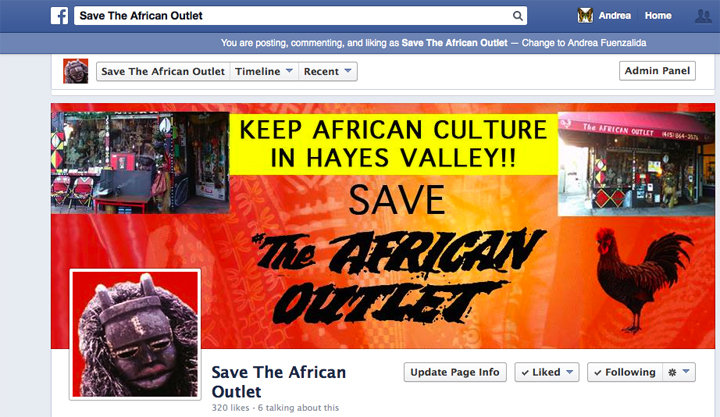 Save The African Outlet FB Page