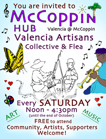 Saturday at McCoppin Hub Plaza