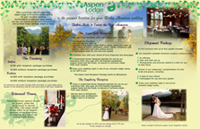 Three-Fold Wedding Brochure Side 2