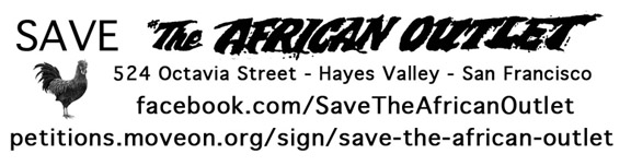 Save The African Outlet, Small Handout